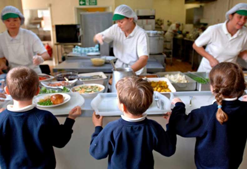Aumento para comedores escolares en la provincia